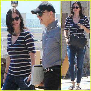 Courteney Cox Set to Appear on 'Late Late Show' Soon!
