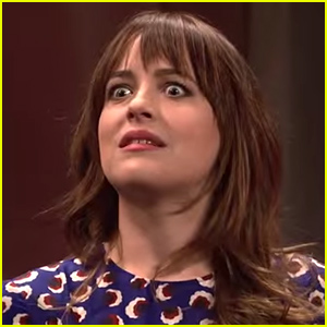 Dakota Johnson Cut 'SNL' Sketch: Anastasia Steele Visits New Red Room in 'Fifty Shades' Sequel
