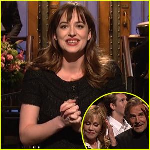 Dakota Johnson's Parents Melanie Griffith & Don Johnson Make 'Saturday Night Live' Cameo - Watch All the Skits!