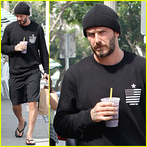 David Beckham Accompanied Son Brooklyn on His First Date