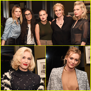Demi Moore, Gwen Stefani, & Hilary Duff Make It A Girls Night at Established Jewelry Launch Party!