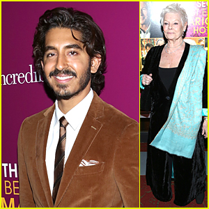 Dev Patel & Judi Dench Premiere 'Second Best Exotic Marigold Hotel' in NYC