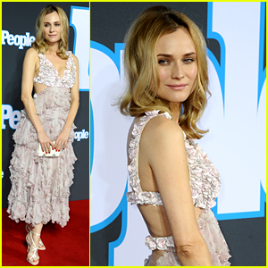Diane Kruger Rings in Spring with Floral Red Carpet Look!