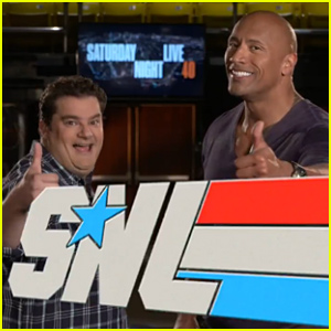 Dwayne 'The Rock' Johnson Discloses His Porn Star Name in 'SNL' Promos - Watch Now!