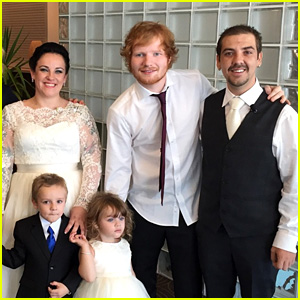 Watch Ed Sheeran Surprise a Couple at Their Wedding! (Video)