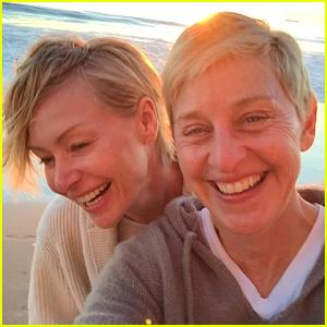Ellen DeGeneres Addresses Not Having Children & Portia de Rossi Split Rumors (Video)