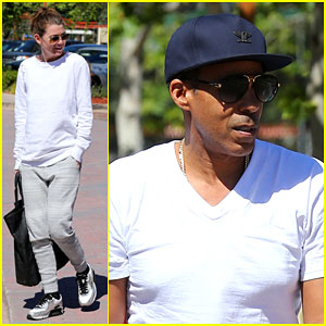Ellen Pompeo Shows Off Her Dance Moves on the Beach