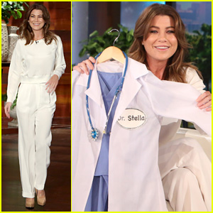 Ellen Pompeo's Daughter Stella Wants to Be the Next Meredith Grey (Video)