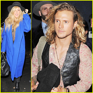 Ellie Goulding & Dougie Poynter Make It A Date Night In London