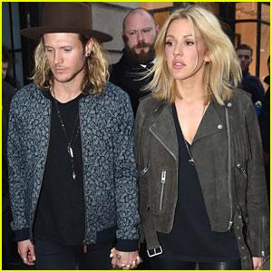 Ellie Goulding & Dougie Poynter Hit Up Private Gig Together