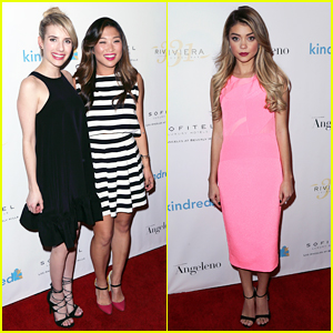 Emma Roberts, Jenna Ushkowitz, & Sarah Hyland Make It A Special Night at Kindred Fundraiser!