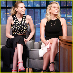 Erin & Sara Foster Talk Spoofing Reality TV for 'Barely Famous' on Debut 'Late Night' Appearance - Watch Here!