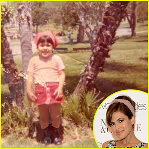 Eva Mendes Joins Instagram, Shares Adorable Throwback Pic!