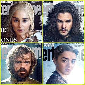 'Game of Thrones' Cast Take EW's Covers!