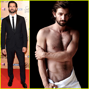 Game of Thrones' Michiel Huisman in Just a Towel = HOT!