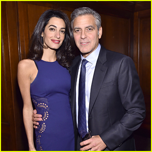 George Clooney Gets Amal's Support at 100 Lives NYC Event