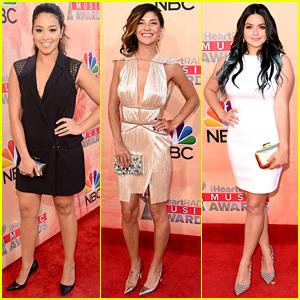 Gina Rodriguez & Jessica Szohr Hit Up the iHeartRadio Awards 2015!