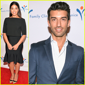 Gina Rodriguez & Justin Baldoni Step Out for Good Cause at Venice Family Clinic's Silver Circle Gala 2015!
