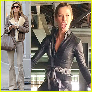 Gisele Bundchen Looks Strong & Fierce Catching the Bad Guys!