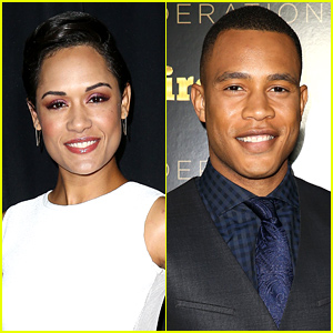 'Empire' Co-Stars Grace Gealey & Trai Byers, aka Boo Boo Kitty & Andre, Are Dating! (Report)
