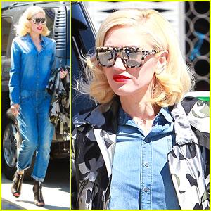Gwen Stefani Brings Back the All-Denim Look