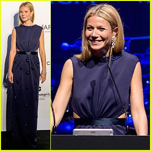 Gwyneth Paltrow Helps Raise $4 Million at amfAR Hong Kong Gala