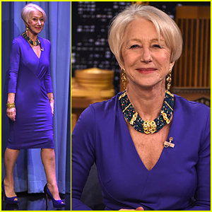 Helen Mirren's Voice Sounds Hilarious After Sucking Helium - Watch Now!