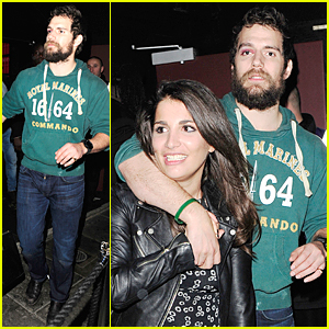 Henry Cavill's Black Eye Doesn't Ruin Fun Night With Mystery Woman