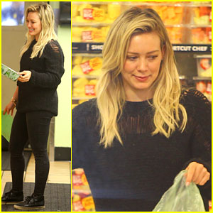 Hilary Duff Gets Busy With a Photo Shoot