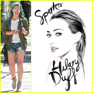 Hilary Duff Reveals 'Sparks' Official Single Cover - See it Here!