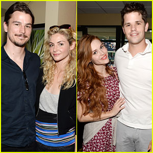 Josh Hartnett & Tamsin Egerton Join Holland Roden at BNP Paribas Open