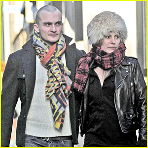 Homeland's Rupert Friend Debuts Shaved Head Alongside Fiancee Aimee Mullins