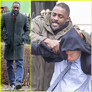 Idris Elba Gets Into Scuffle As DCI John 'Luther'