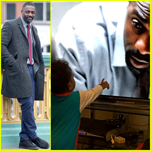 Idris Elba Shares Cute Photo of Baby Son Winston Watching Him On TV!