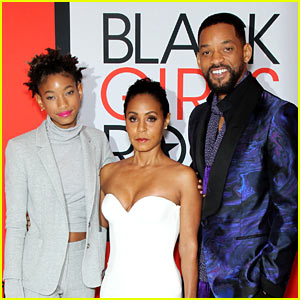 Jada Pinkett Smith Gets Family's Support at Black Girls Rock