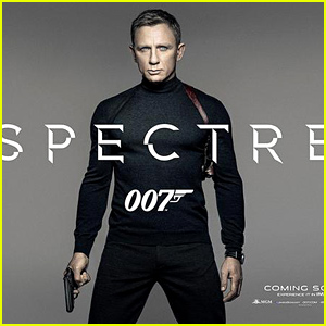 Daniel Craig Is Front & Center on First James Bond 'Spectre' Poster