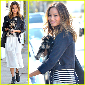 Jamie Chung's New Adopted Puppy Ewok Is Beyond Adorable