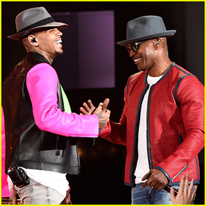 Jamie Foxx & Chris Brown Perform 'You Changed Me' at iHeartRadio Awards (Video)