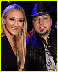 Jason Aldean & Brittany Kerr's First Wedding Photo Revealed