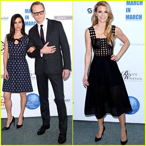Jennifer Connelly & AnnaLynne McCord Celebrate International Women's Day