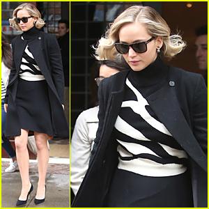 Jennifer Lawrence's Short Hair Made Karlie Kloss Envy Her