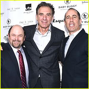 Jerry Seinfeld, Jason Alexander, & Michael Richards Have a Sweet 'Seinfeld' Reunion!