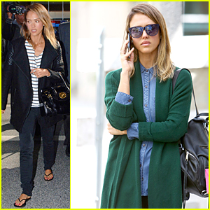 Jessica Alba Jets to Dubai For First Time Ever!