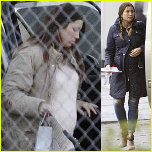 Jessica Biel's Growing Baby Bump Looks Much Bigger on Her 33rd Birthday!