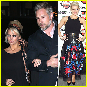 Jessica Simpson Looks Perfect As Dean Speaker at Teen Vogue Fashion University
