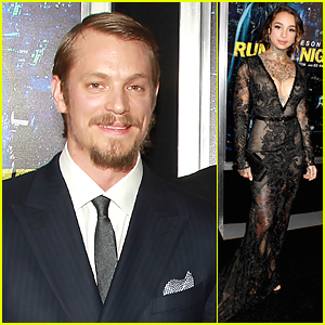 Joel Kinnaman Brings Girlfriend Cleo Wattenstrom to 'Run All Night' Premiere