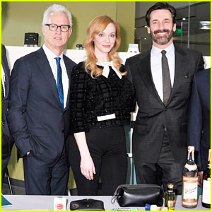 Jon Hamm Visits the Smithsonian in Honor of 'Mad Men'