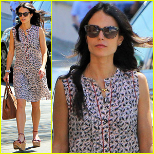 Jordana Brewster Steps Out as 'Furious 7' Featurette Debuts