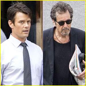 Josh Duhamel Starts Filming 'Beyond Deceit' With Al Pacino