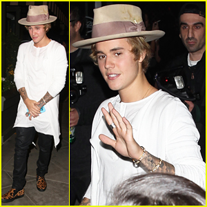Justin Bieber Steps Out for A Boys Night with Cody Simpson!
